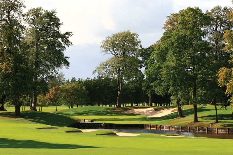 10th Green - The Brabazon Course at The Belfry