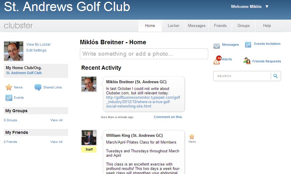 Golf Business Monitor: Golf Club Management